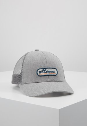 WALLED TRUCKER - Caps - heather grey