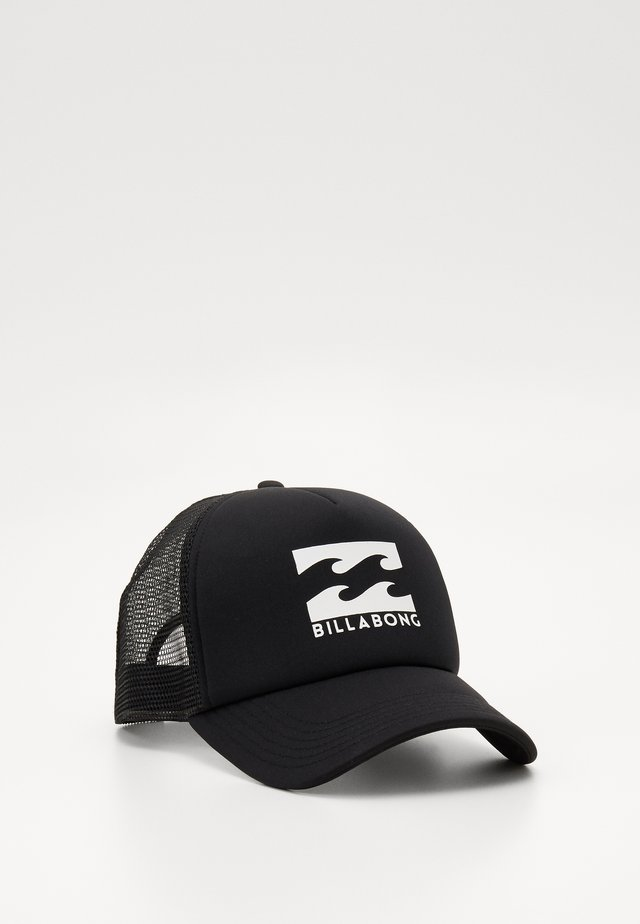 PODIUM TRUCKER - Cap - black/white
