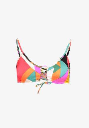 SOL SEARCHER TIED BUSTIER - Bikinitop - multi-coloured