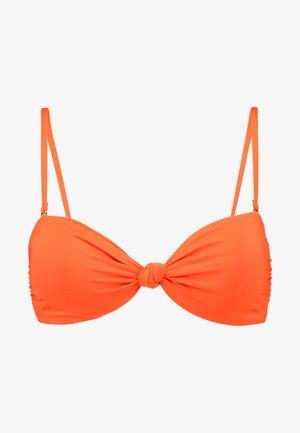 KNOTTED BANDEAU - Top de bikini - samba