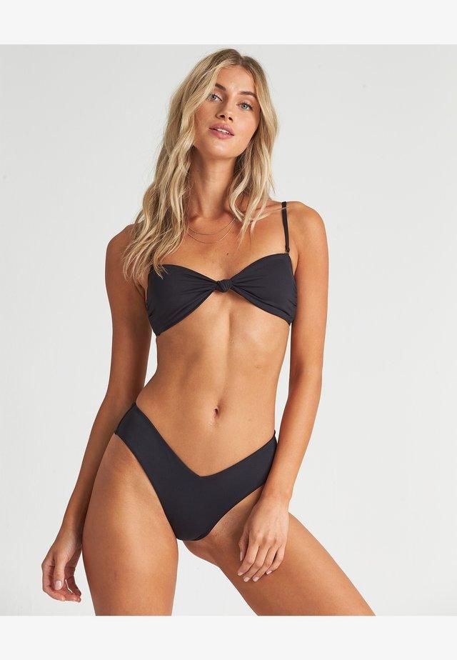 S.S KNOTTED BANDEAU - Haut de bikini - black pebble