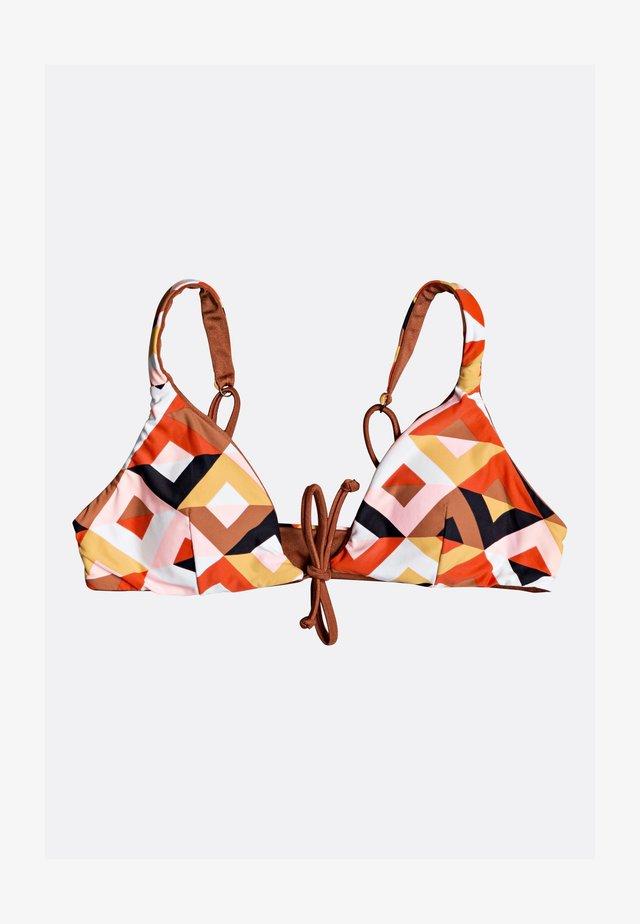 BAHAMAS - Bikini top - henna
