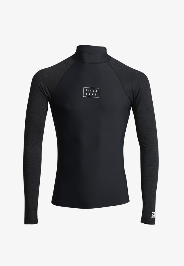 LANGÄRMELIGES LYCRA MIT UPF - T-shirt de surf - black