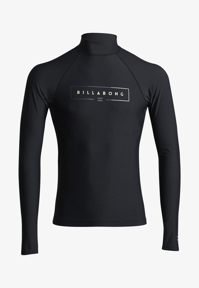 LONG SLEEVE - T-shirt de surf - black