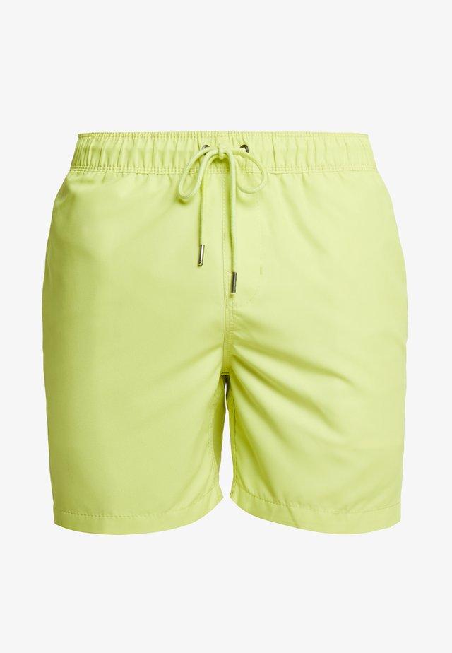 Shorts da mare - neon yellow