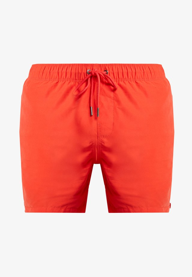 Badeshorts - red hot