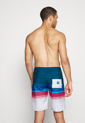 ALL DAY STRIPE  - Shorts da mare - navy