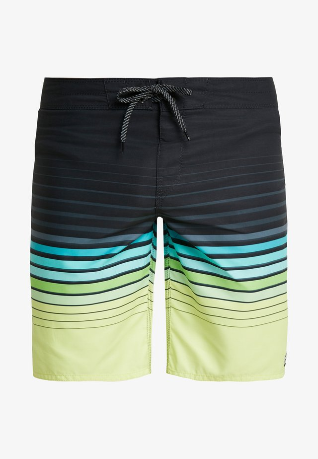 ALL DAY STRIPE  - Shorts da mare - lime