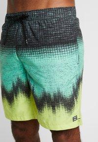Billabong - RESISTANCE - Shorts da mare - black/light green/yellow - 3