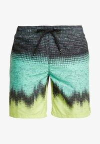 Billabong - RESISTANCE - Shorts da mare - black/light green/yellow - 2