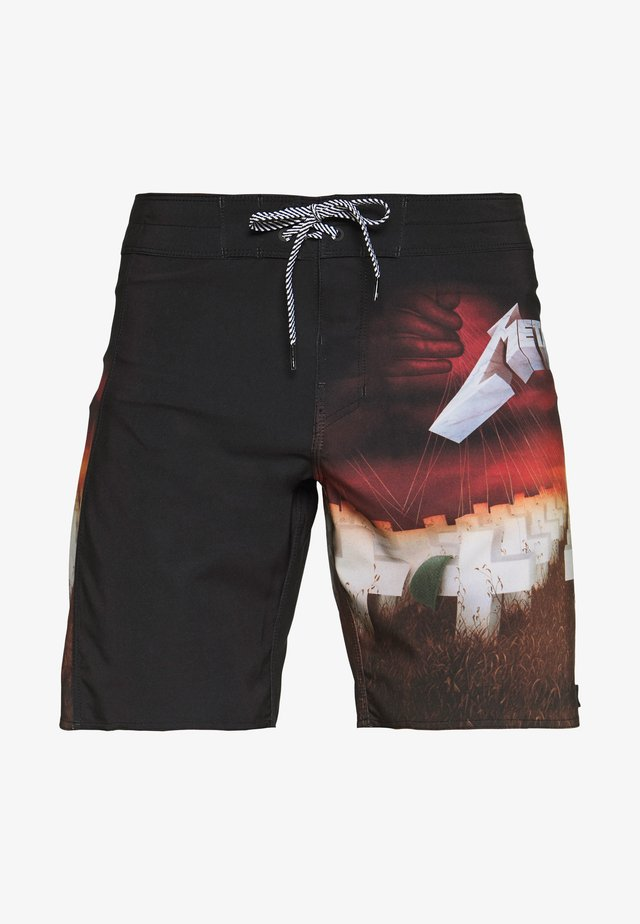 MASTER OF PUPPETS - Shorts da mare - fire