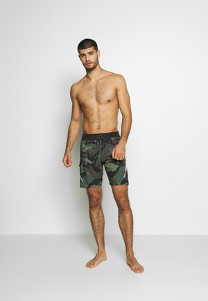 AI METALICA - Swimming shorts - black