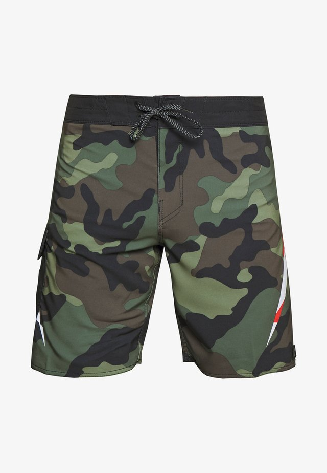 AI METALICA - Shorts da mare - black
