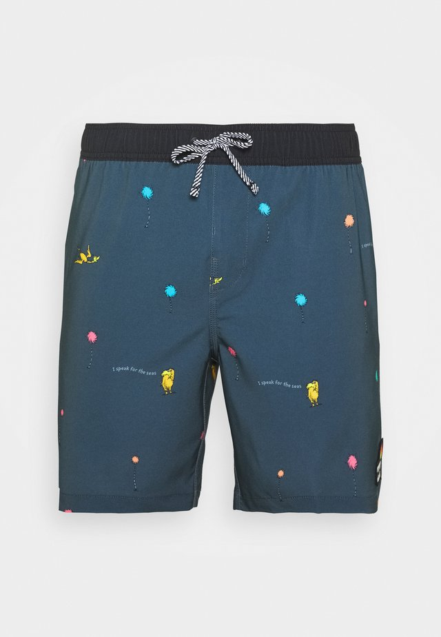 LORAX MINI LAYBACK - Shorts da mare - charcoal