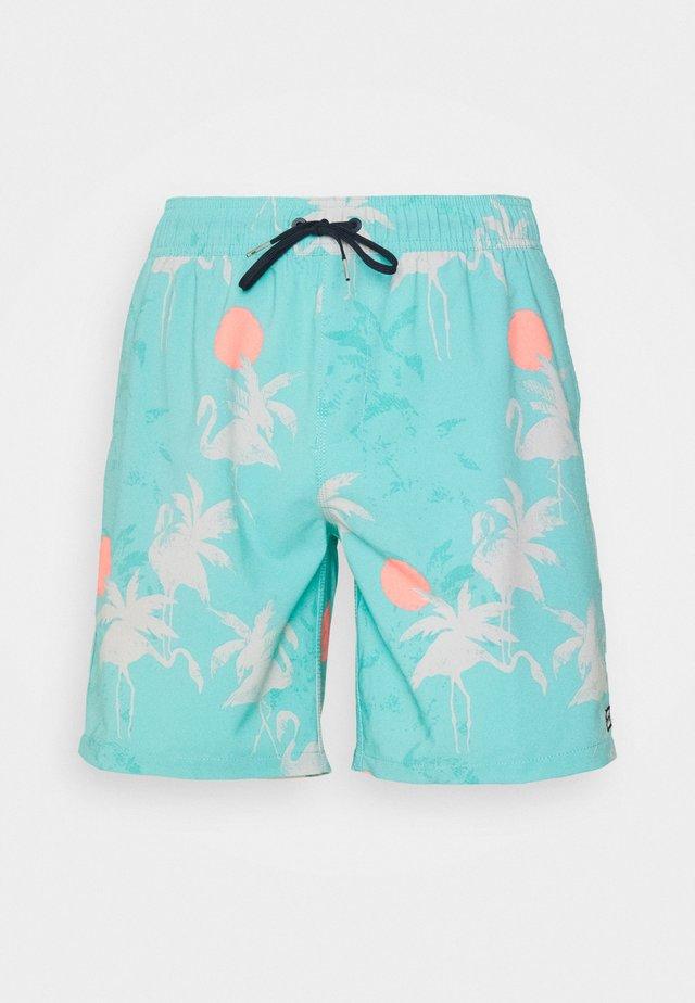 SUNDAYS LAYBACK - Shorts da mare - seagreen