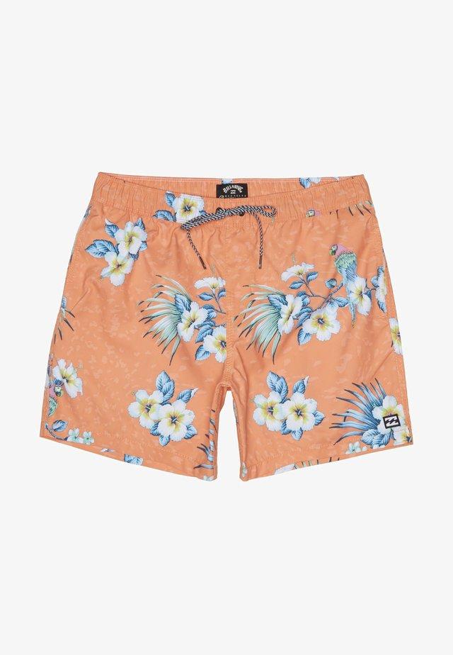 SUNDAYS LAYBACKS - Swimming shorts - neon melon