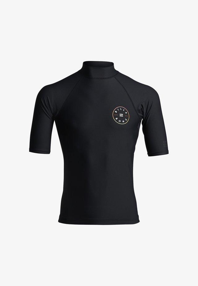 ROTOR - T-shirt de surf - black