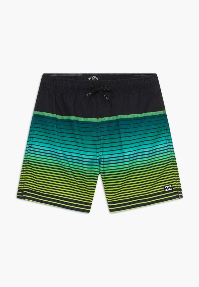 ALL DAY STRIPE BOY - Bañador - black