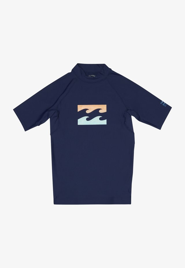 TEAM WAVE - Surfshirt - navy