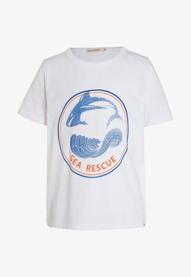 Billybandit - Print T-shirt - weiß