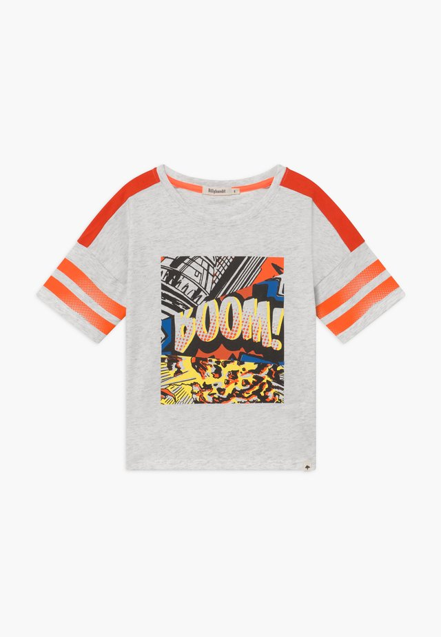 T-Shirt print - chine beige