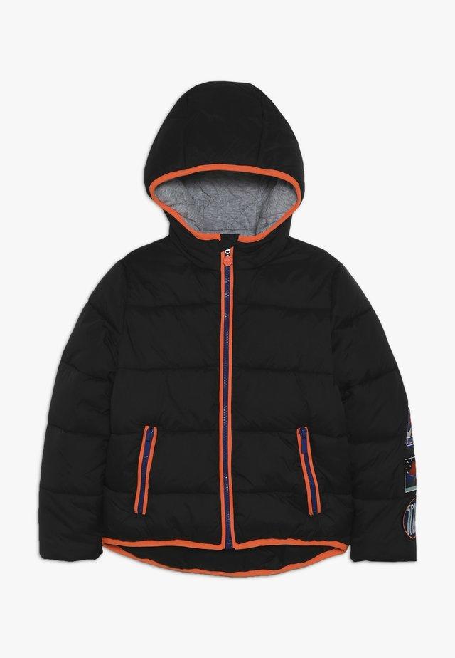 Zimní bunda - dunkel grau
