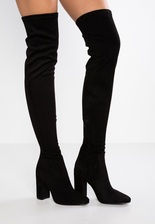 High heeled boots - nero castro