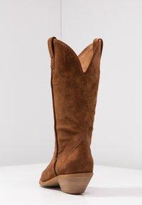 Bianca Di - Cowboy/Biker boots - dark brown - 5