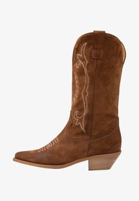 Bianca Di - Cowboy/Biker boots - dark brown - 1