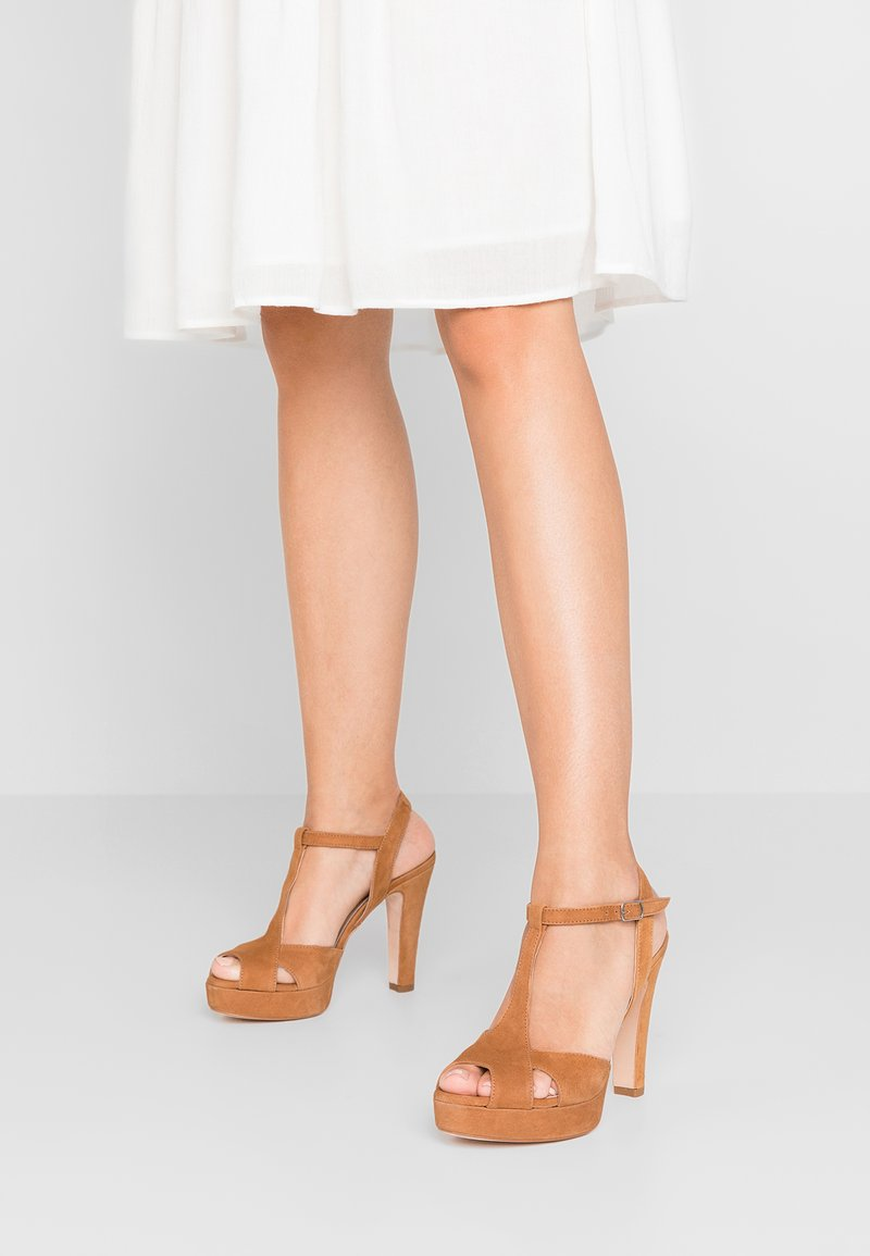 Bianca Di - High heeled sandals - dark brown