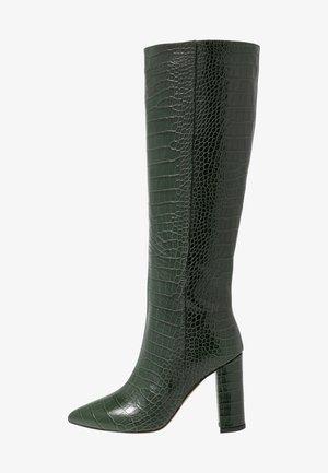 Botas de tacón - cocco verde
