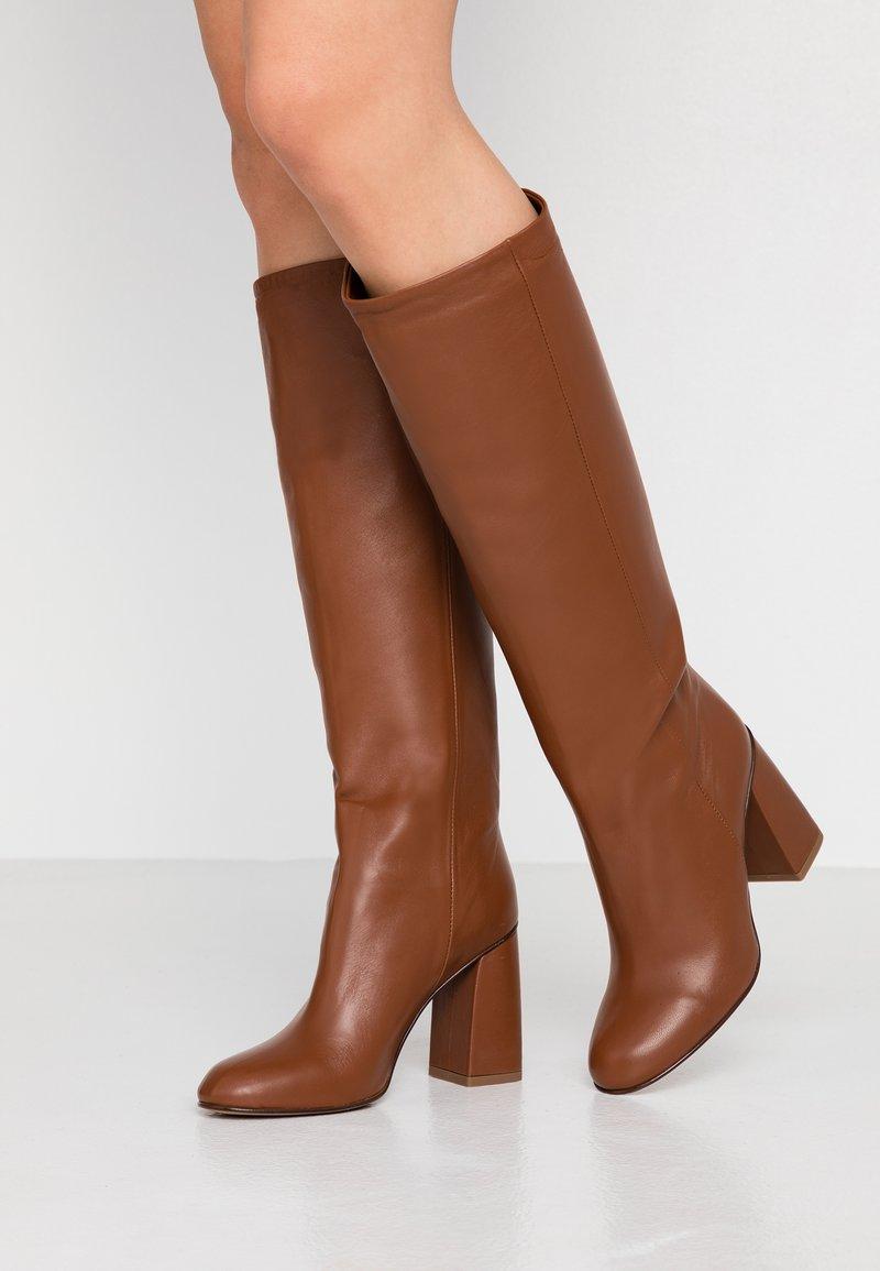 Bianca Di - High heeled boots - tan
