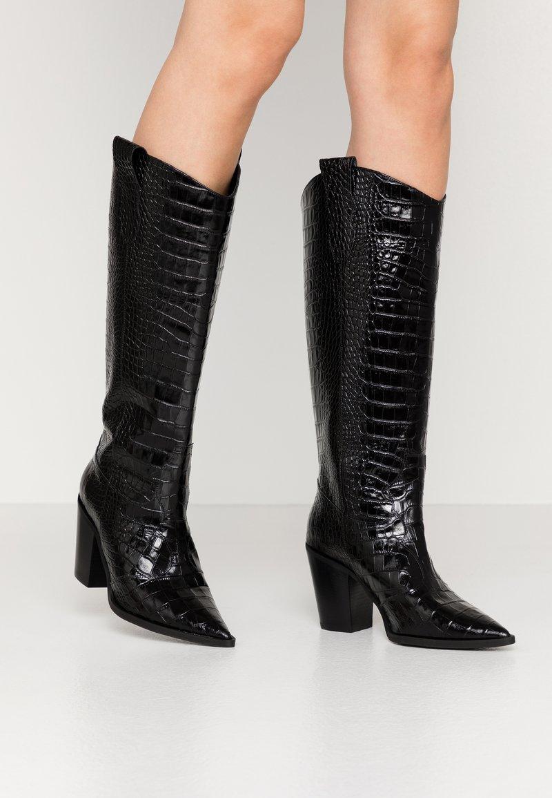 Bianca Di - High heeled boots - nero