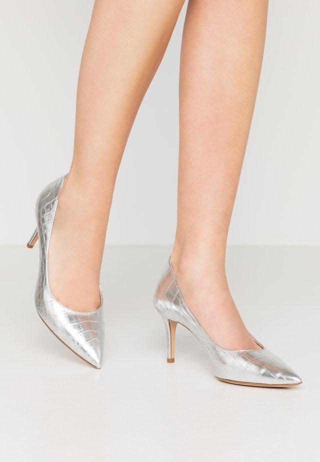 Classic heels - argento