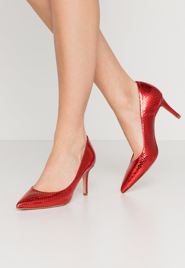 Classic heels - rosso