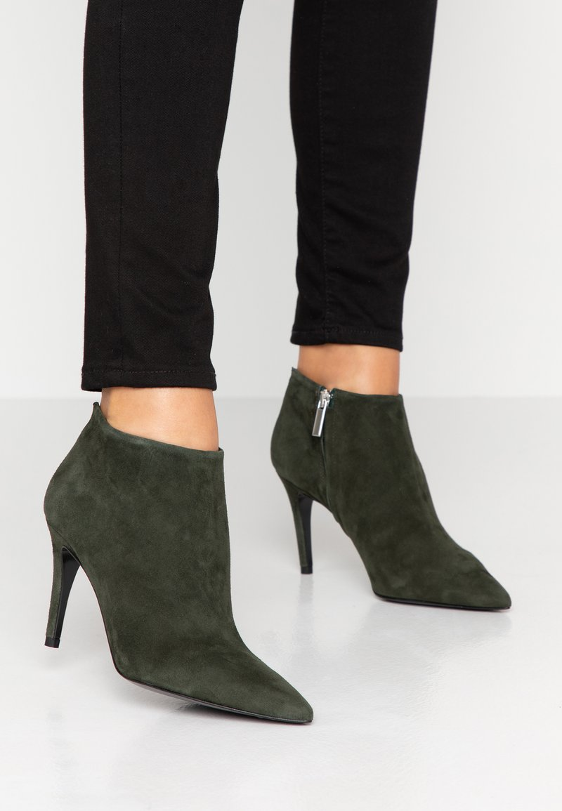 Bianca Di - High heeled ankle boots - verde