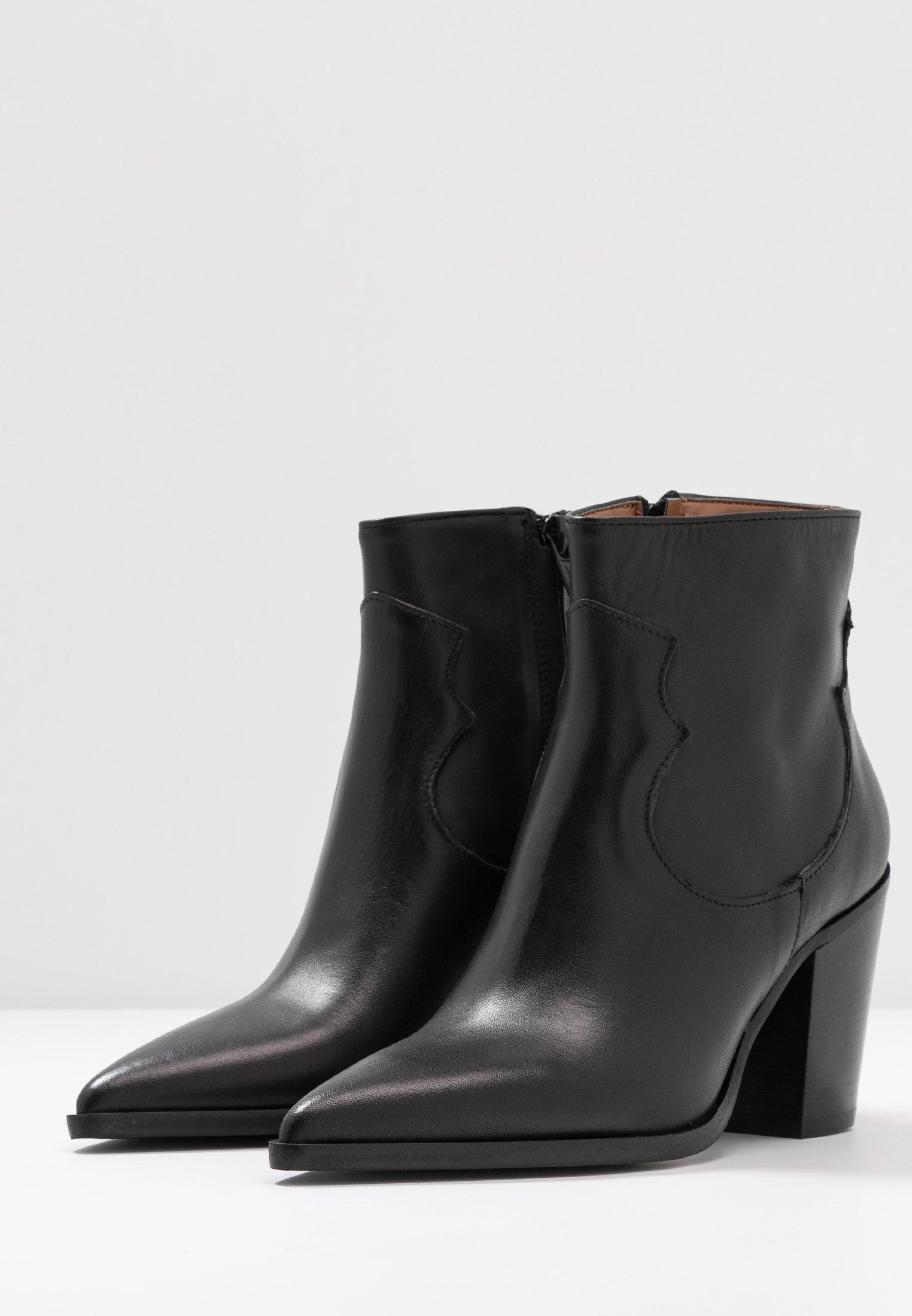 Bianca Di Boots à talons nero
