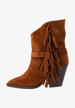 Kotníková obuv na vysokém podpatku - rodeo