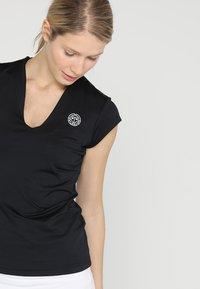 BIDI BADU - BELLA 2.0 TECH NECK TEE - Basic T-shirt - black - 3