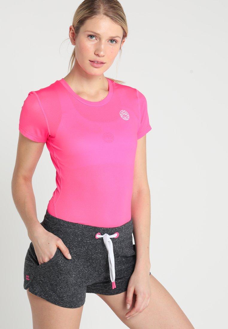 BIDI BADU - EVE TECH ROUNDNECK TEE - T-shirt basic - pink