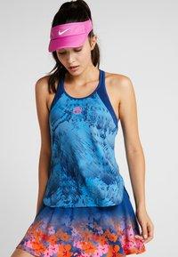 BIDI BADU - Sports shirt - dark blue/turquoise - 0