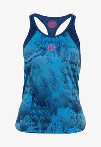 BIDI BADU - Sports shirt - dark blue/turquoise - 5
