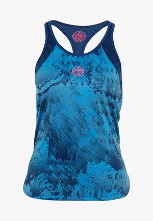 Sports shirt - dark blue/turquoise