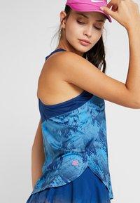 BIDI BADU - Sports shirt - dark blue/turquoise - 3