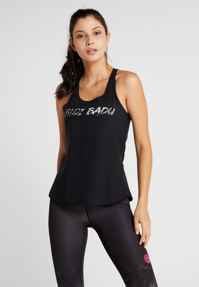 FRIA BASIC LOGO TANK - Top - black