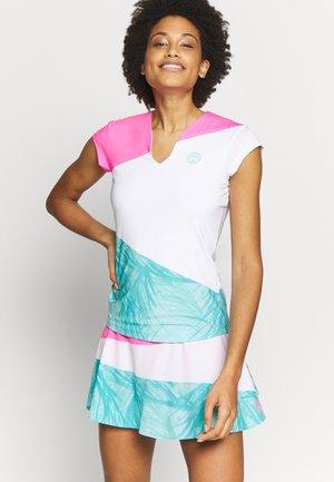 BELLA - Print T-shirt - pink/white/mint