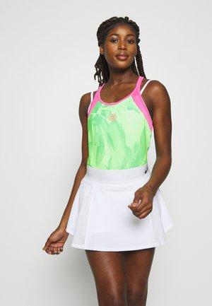 FLEUR TECH TANK - Top - neon green/pink