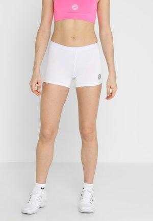 KIERA TECH - Sports shorts - white