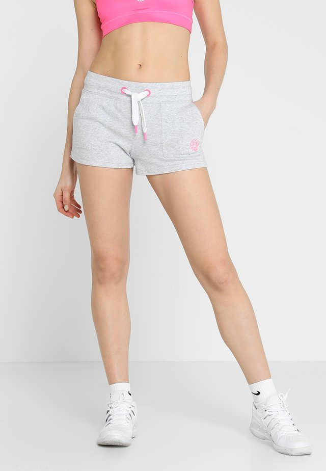 CAM BASIC SHORTS - Korte broeken - light grey