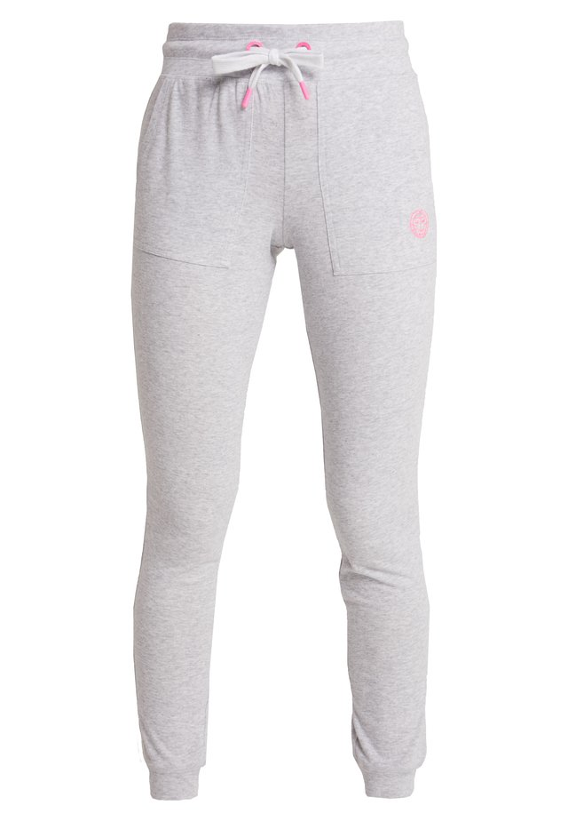 PERLA BASIC PANT - Joggebukse - light grey